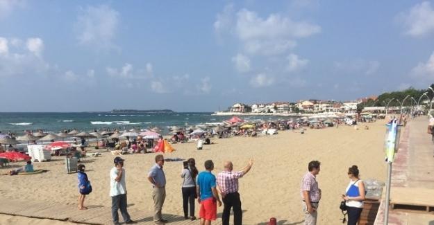 Büyükşehir'den mavi bayraklı plajlara inceleme