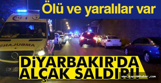 Diyarbakır'da alçak saldırı!