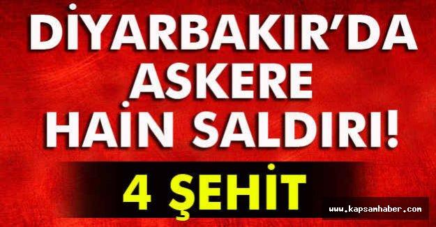 Diyarbakır'da Kalliş Saldırı: 4 Şehit!