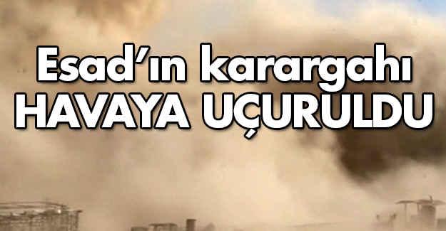 Esad'ın Karargahı Havaya Uçuruldu