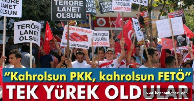 Kahrolsun PKK, Kahrolsun FETÖ