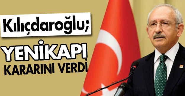 Kılıçdaroğlu, Yenikapı Mitingi İçin Kararını Verdi