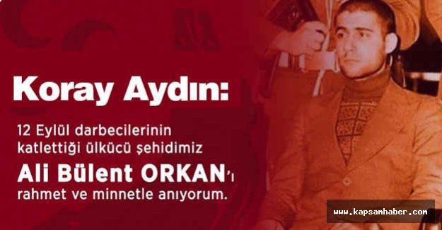 Koray Aydın'dan Anlamlı tweet