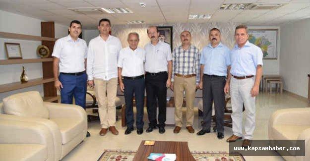 MASKİ Genel Müdürü Türk Eğitim Sen'i Ağırladı