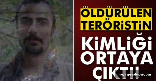 Öldürülen Teröristin Kimliği Açıklandı