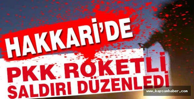 PKK'lı Kansızlar Roketli Saldırı Düzenlediler