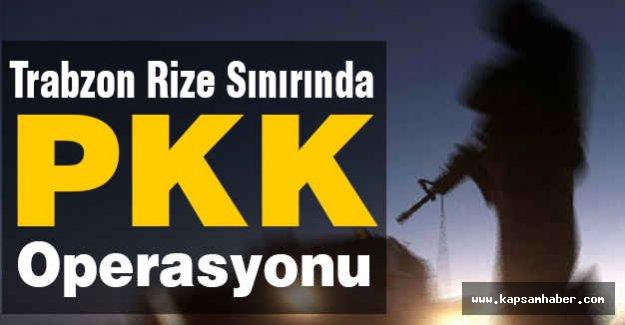 PKK'lılar Karadeniz'de hazırlık yapıyor