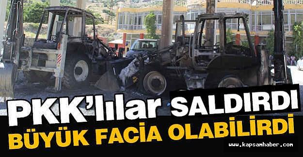 PKK'lılar Saldırdı; Allah Korudu...