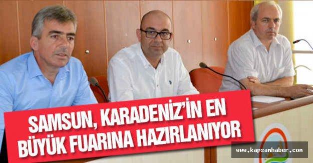 Samsun, Karadeniz'in En Büyük Fuarına Hazırlanıyor