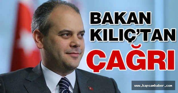 Spor Bakanı Çağtay Kılıç'tan Sporseverlere Çağrı!