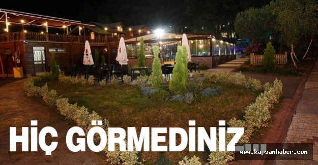 Tekkeköy'de Bir Saklı Bahçe