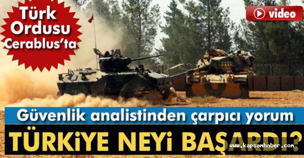 Türk Ordusu Cerablus'ta...