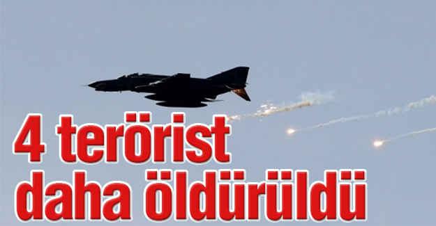 4 Terörist Öldürüldü...
