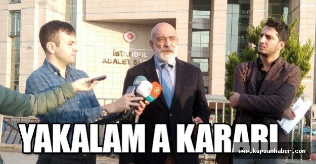 Ahmet Altan hakkında tekrar yakalama