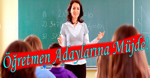 Bakan Yılmaz'dan Öğretmen Adaylarına Müjde!
