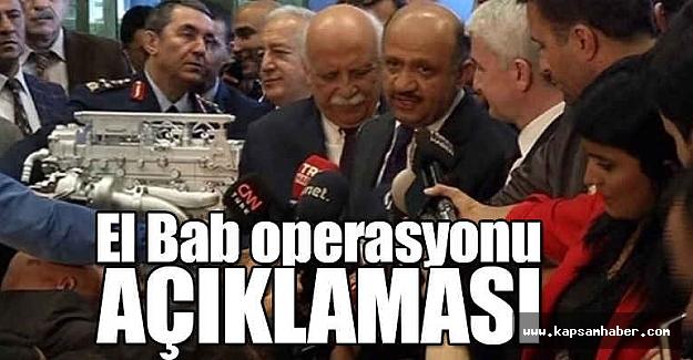Bakandan El Bab Operasyonu Açıklaması