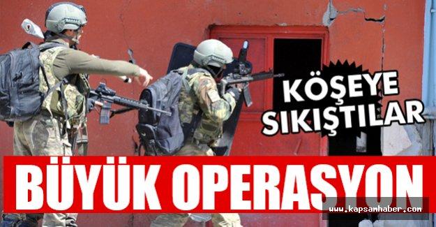 Büyük Operasyon, Köşeye Sıkıştılar...