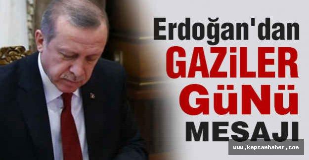 Erdoğan'dan Gaziler Günü