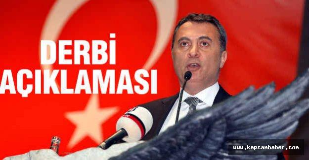 Galatasaray Derbisine İlişkin Önemli Açıklama