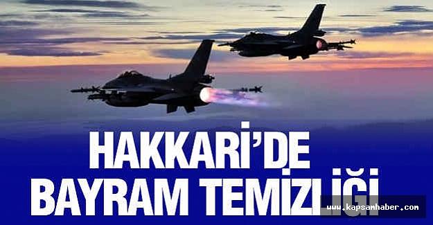 Hakkari'de PKK'ya Bayram Temizliği