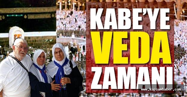Kabe'ye Veda Zamanı Geldi
