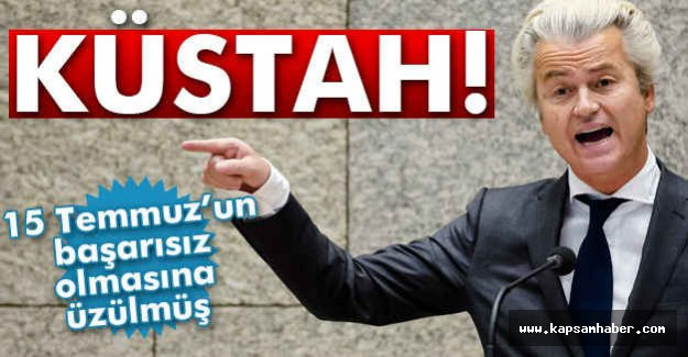 Hollandalı Küstah Liderin Söylediğine Bakın!