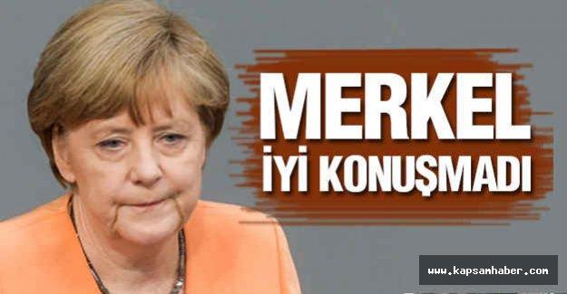 Merkel AB İçin İyi Konuşmadı
