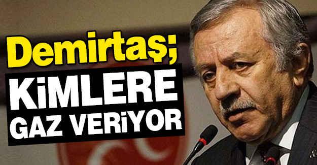 MHP'li Adan: Demirtaş Kimden Cesaret Alıyor?
