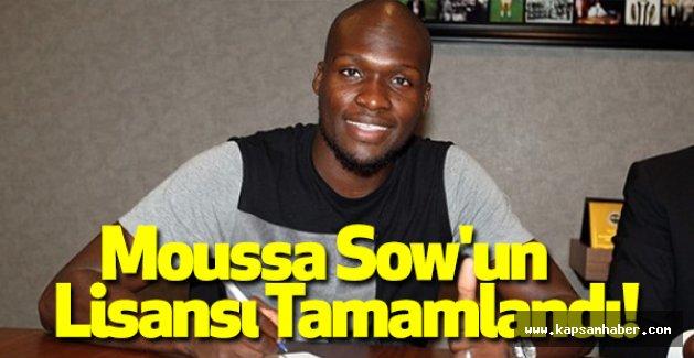 Moussa Sow'un Lisansı Tamamlandı!