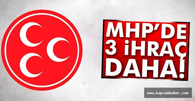 O İsimler MHP'den İhraç Edildi