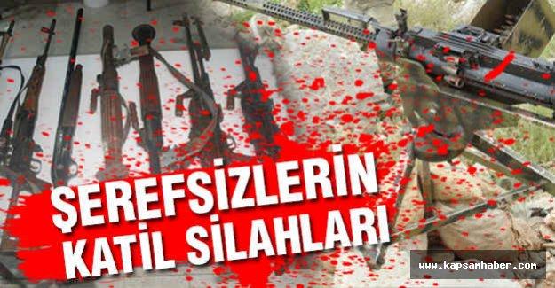 PKK'dan Ele geçirilen Silahlar