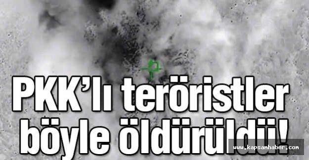 PKK'lılar  böyle öldürüldü!