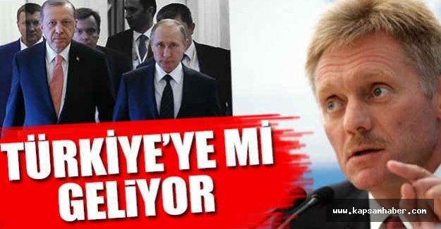 Putin, Türkiye'ye mi Geliyor...