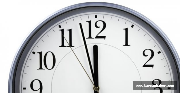 Saatler artık geri almayacak!