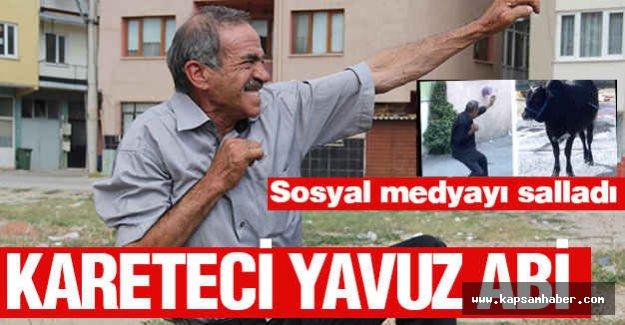 Sosyal medyayı sallayan Kareteci Yavuz Abi