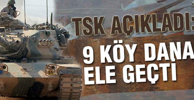 Türk Askeri 9 Köy Daha Ele Geçirdi