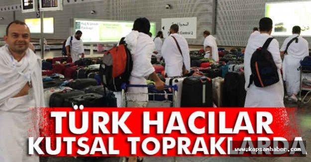 Türk Hacıları Kutsal Topraklarda