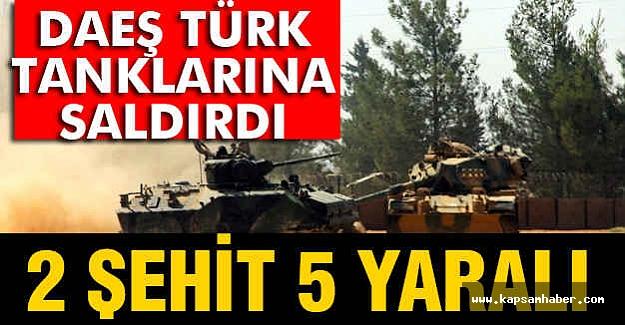 Türk Tanklarına Saldırı, Şehit ve Yaralılarımız Var