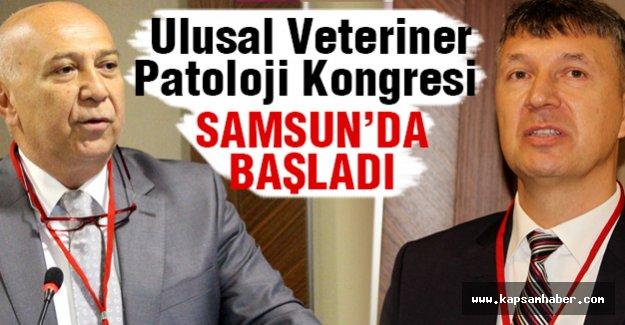 Ulusal Veteriner Patoloji Kongresi Samsun'da başladı