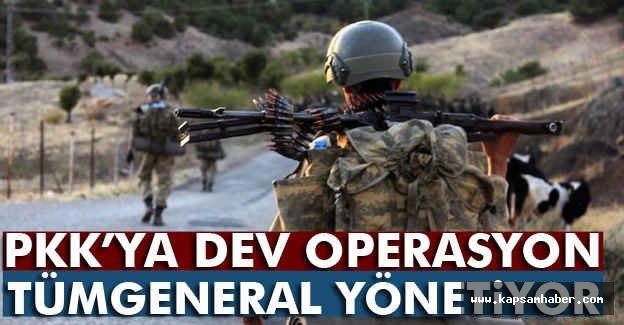 Adıyaman'da PKK'ya Büyük Operasyon