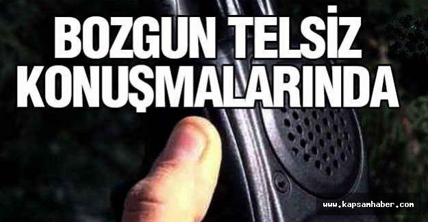 Bozgun Telsiz Konuşmalarında