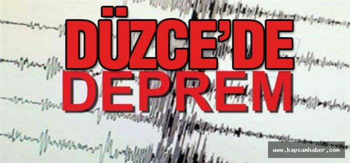 Düzce'de Deprem