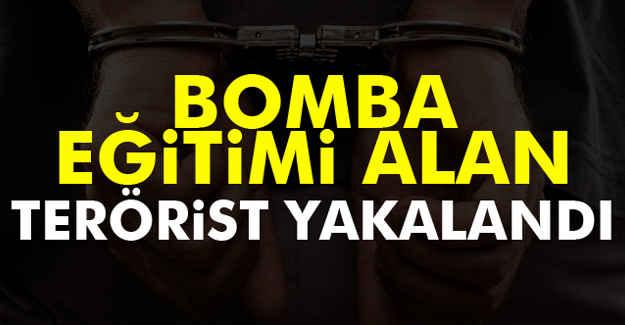 Eğitimli Bombacı  Yakalandı