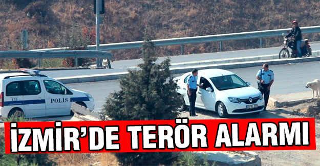İzmir'de PKK alarmı!