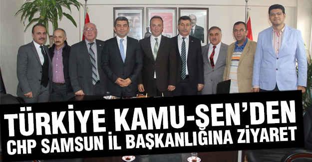 Kamu'sen, CHP Samsun İl Başkanlığını Ziyaret Etti