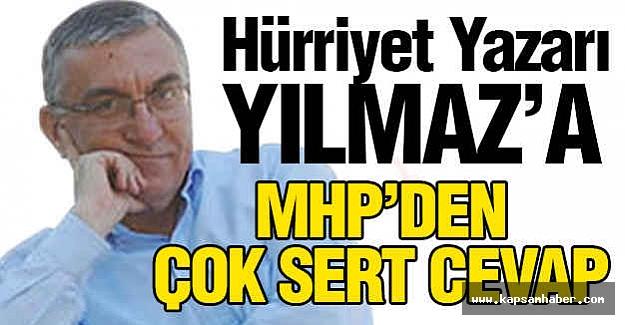 MHP'den Hürriyet Gazetesi Yazarına sert cevap