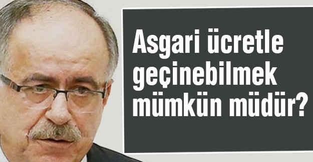 MHP'li Kalaycı'dan Asgari Ücret Açıklaması