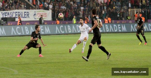 Osmanlıspor: 1 - Fenerbahçe: 1