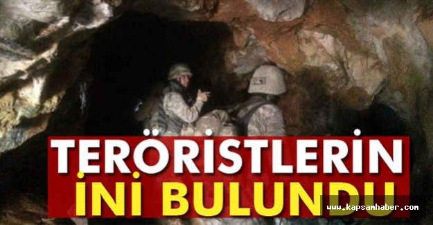 PKK'nın Dev İni Bulundu