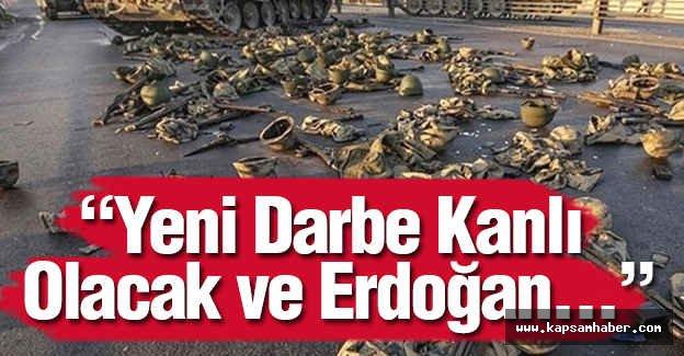 Rubin: Yeni Darbe Kanlı Olacak ve Erdoğan...